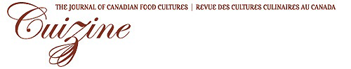 Cuizine - The Journal of Canadian Food Cultures